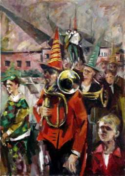 Medieval Festival from Sighisoara - 40x50 cm -EURO 750