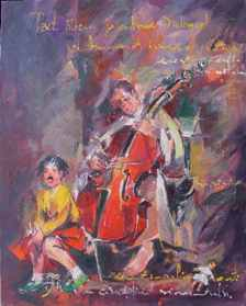 The violonist-40x50cm - EURO 690