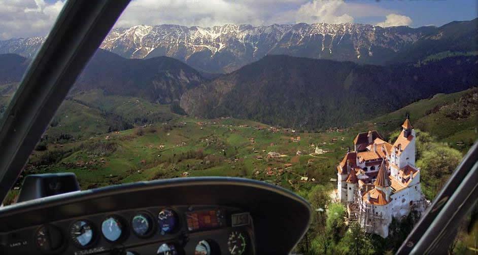 A Birdu0027s Eye View Over Draculau0027s Castle Departure: Brasov From US$ 229*/ £  129*/ CA$ 246*/ AU$ 277*/ U20ac 159 / Person