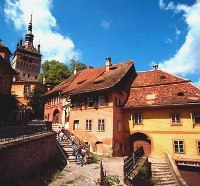 Sighisoara citadel, courtesy of Romanian Tourism Ministry